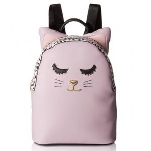 Betsey Johnson cat backpack new with tag
